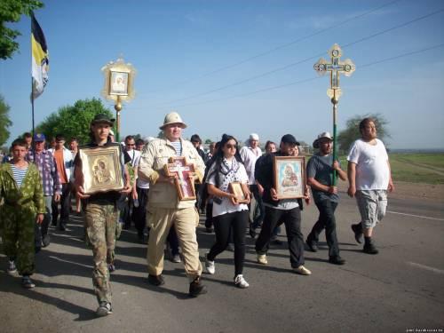 Крестный Ход в преддверии Пасхи 2013